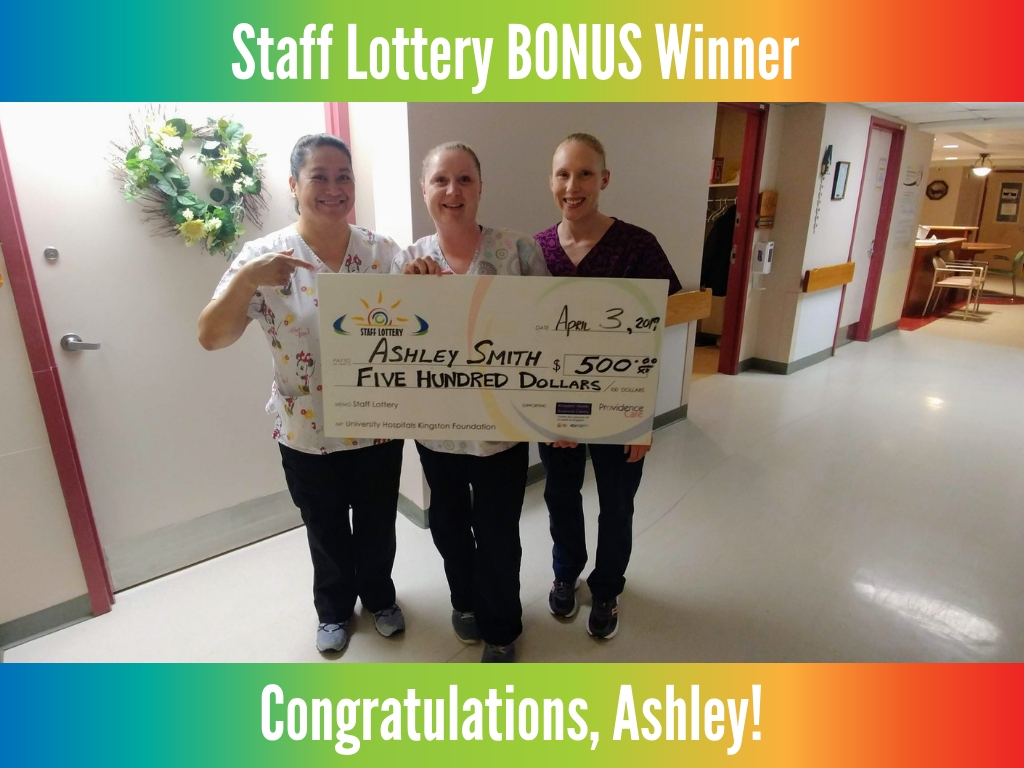 April 3, 2019 Bonus Winner