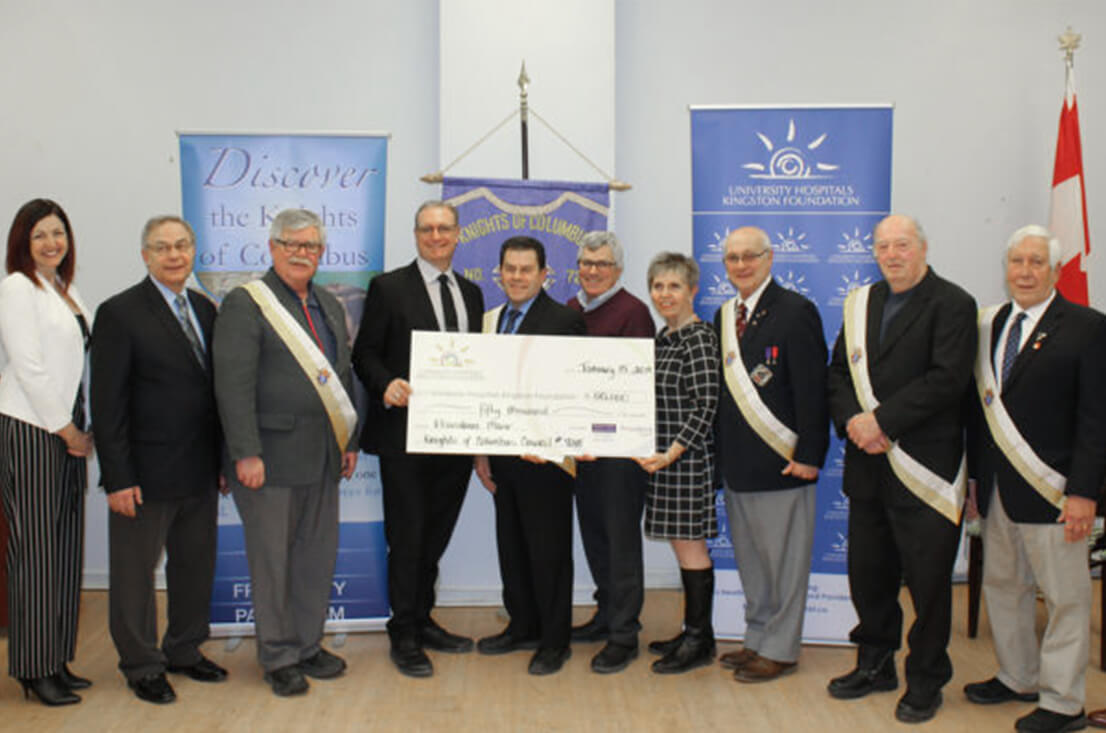Knights of Columbus Raise $50,000 for New Providence Manor Long-Term Care Home Image